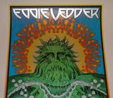 Chuck Sperry Eddie Vedder Long Beach Poster With Sniper Program 2011