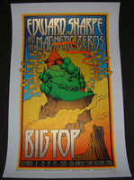 Chuck Sperry Edward Sharpe Magnetic Zeros Los Angeles Poster 2013 S/N