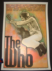 Chuck Sperry The Who Poster Pete Townshend 2016 Artist Edition