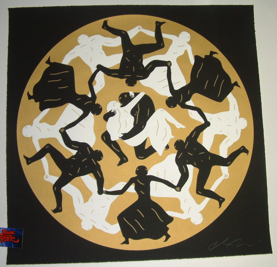 Cleon Peterson Endless Sleep Art Print Black Variant 2016