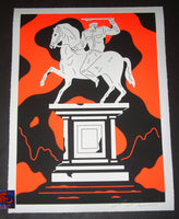 Cleon Peterson Oppression Art Print Monument To Power 2019