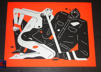 Cleon Peterson Talk Talk Talk Art Print Red Variant 2019