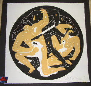 Cleon Peterson This Is Darkness II 2 Art Print Gold Variant 2017