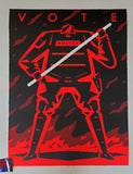 Cleon Peterson Vote Art Print Red Variant 2020