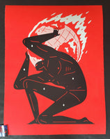 Cleon Peterson World On Fire Art Print Red Variant 2020