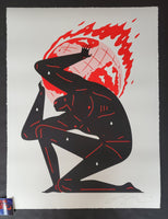 Cleon Peterson World On Fire Art Print White Variant 2020