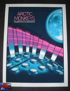 Clinton Reno Arctic Monkeys San Francisco Poster Artist Edition 2018 Night 1