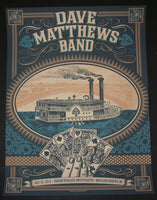 Status Serigraph Dave Matthews Band Poster Maryland Heights 2013 Artist Edition S/N