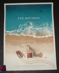 DKNG Studios The National Los Angeles Poster Artist Edition 2019