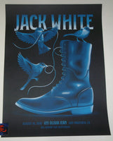 DKNG Studios Jack White San Francisco Poster Artist Edition 2018 Night 2
