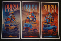 DKNG Studios Phish Posters Commerce City 2014 Artist Edition Set