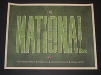 DKNG Studios The National Poster Columbia 2011 S/N