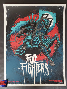 1000Styles Dan Dippel Foo Fighters Hamilton Poster Artist Edition 2020