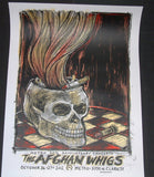Dan Grzeca Afghan Whigs Poster Chicago 2012 Artist Edition S/N