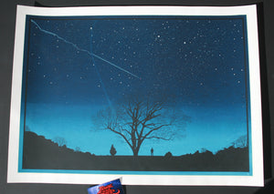 Dan McCarthy Don Stepped Outside Art Print Glows In The Dark 2005