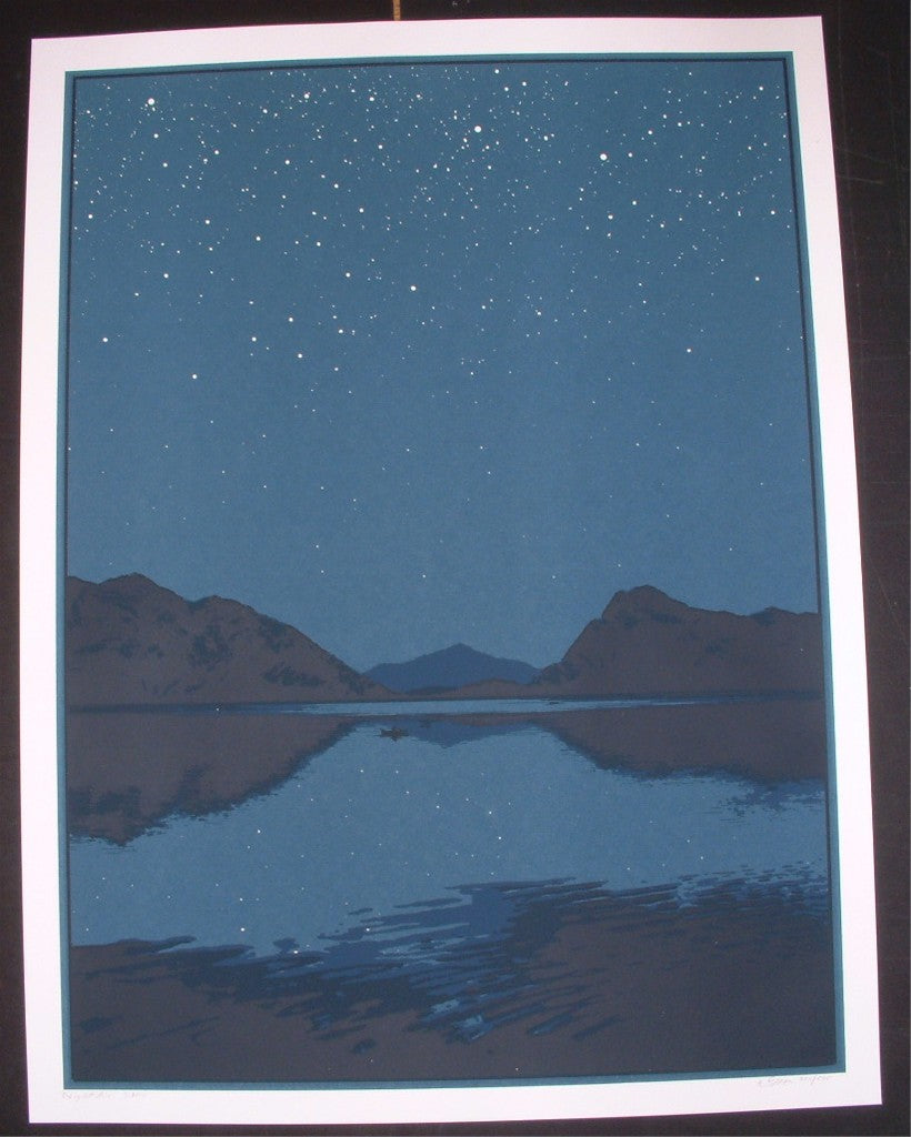 Dan McCarthy Night Air Art Print S/N Glow In The dark