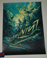 Dan Mumford Nine Inch Nails Irving Poster Artist Edition 2018