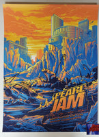 Dan Mumford Pearl Jam New York City Poster 2020