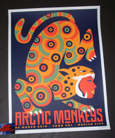 Dan Stiles Arctic Monkeys Mexico City Poster Artist Edition 2019