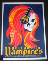 Dan Stiles Hollywood Vampires Denver Poster Artist Edition 2019