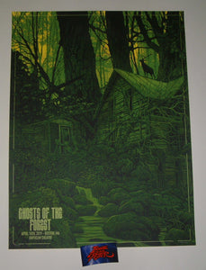 Daniel Danger Ghosts Of The Forest Boston Poster Artist Edition 2019