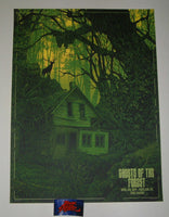 Daniel Danger Ghosts Of The Forest Portland Poster Artist Edition 2019