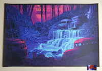 Daniel Danger Grateful Dead Fountain Art Print Scarlet Begonias 2020
