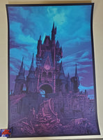 Daniel Danger to all that come to this happy place Print Haunted Mansion Variant 2020