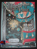 Darin Shock Widespread Panic Poster Pittsburgh 2015 Artist Edition Doodled