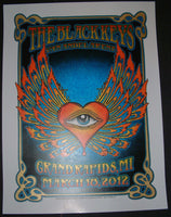 Dave Hunter Black Keys Poster Grand Rapids 2012 Artist Edition S/N