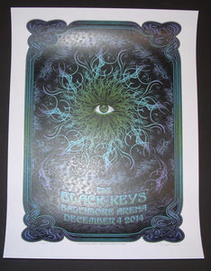 Dave Hunter Black Keys Poster Baltimore 2014 Artist Edition Regular