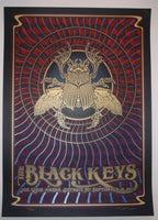 Dave Hunter Black Keys Poster Detroit 2014