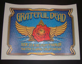 Dave Hunter Grateful Dead Santa Clara Poster 2015 Fare Thee Well Tour