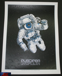 Dave Hunter Puscifer Poster Philadelphia 2015 Artist Edition