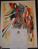 Dave Kinsey Capital Punishment Art Print S/N COA