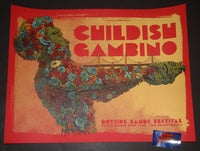 Dave Kloc Childish Gambino San Francisco Poster Artist Edition Outside Lands 2019