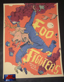 Dave Kloc Foo Fighters Edmonton Poster 2018