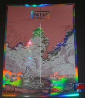 Dave Kloc Nine Inch Nails New Orleans Poster Foil Variant 2018 Artist Edition