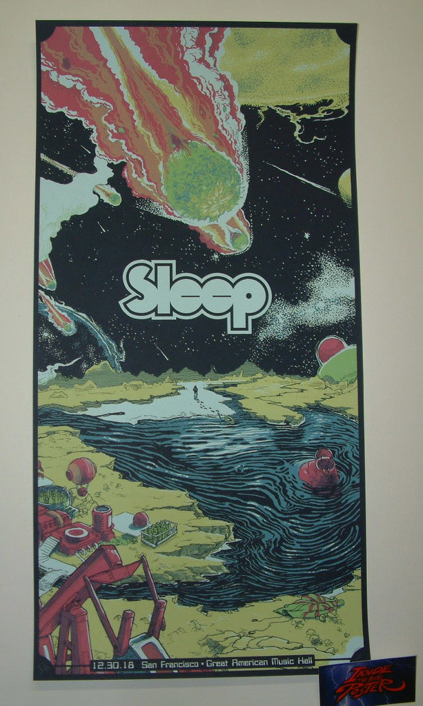 Dave Kloc Sleep San Francisco Poster Night 2 Artist Edition 2018
