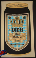 Methane Studios Dave Matthews Band Poster Munich Munchen Germany 2015 Artist Edition