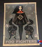 Dave Quiggle Foo Fighters Phoenix Poster Artist Edition 2018