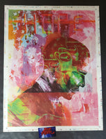 David Choe HVW8 Obama Test Print Poster Hope Change Double Sided 2008