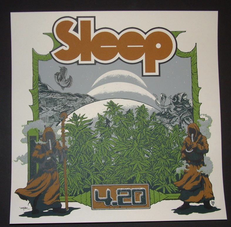 Arik Roper David D'Andrea Sleep Poster 420 2015