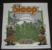 David D'Andrea Arik Roper Sleep Poster Denver Seattle 2015 Artist Edition
