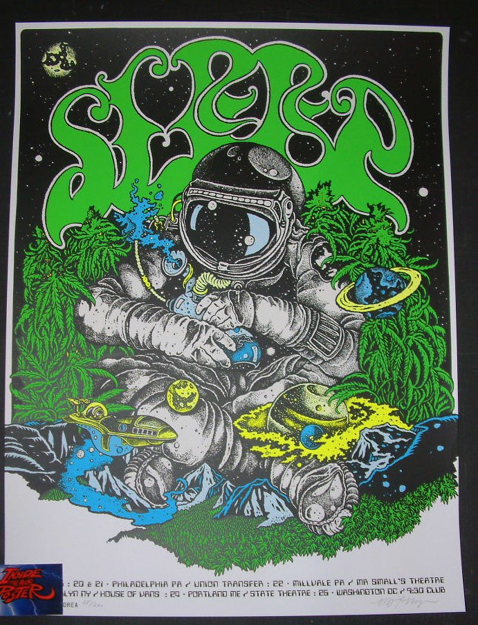 David D'Andrea Sleep Poster East Coast 2016 Tour Artist Edition