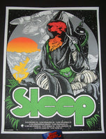David D'Andrea Sleep Poster Midwest Tour Artist Edition 2018