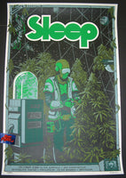 David D'Andrea Arik Roper Sleep Poster West Coast 2016 Artist Edition