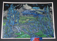 David Welker Emergency Landing Art Print 2017