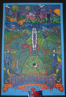 David Welker Grateful Dead Poster Chicago 2015 Wrigley Field Fare Thee Well