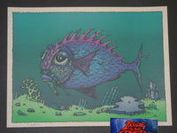 David Welker Lonious Monk Fish Art Print 2017
